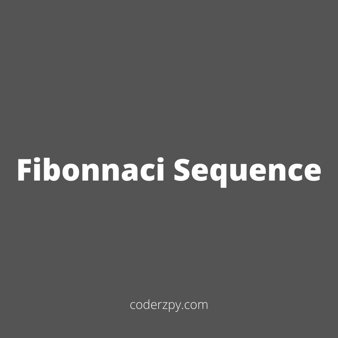 Fibonnaci Sequence